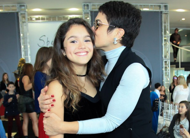 Sandra Annenberg e a filha, Elisa (Foto: Marcos Ribas/Brazil News)