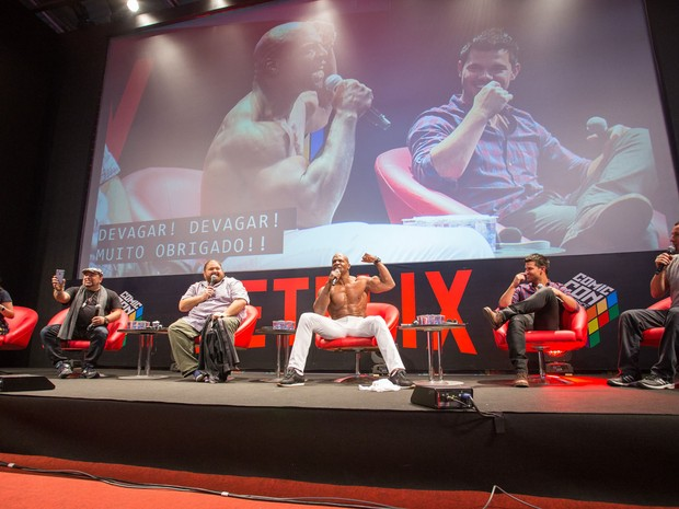 Elenco do filme 'The ridiculous six' participa da Comic Con Experience (Foto: Divulgação)