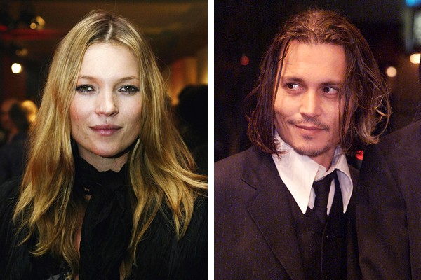 Kate Moss e Johnny Depp (Foto: Getty Images)