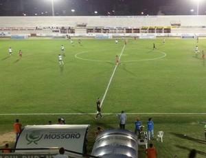 Baraúnas x Potiguar  (Foto: Hugo Andrade/Inter TV Costa Branca)
