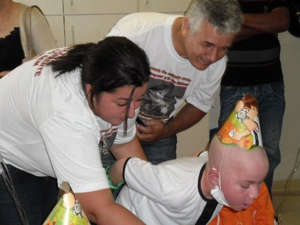 Transplante foi realizado há um mês, em Curitiba (Foto: Ana Paula Stevam/Arquivo Pessoal)