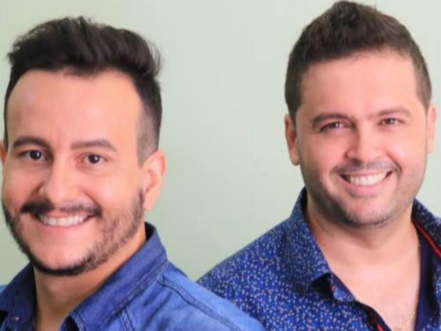 O cantor sertanejo Marinho (à esq.) morreu em acidente na MT-208 (Foto: Divulgação)