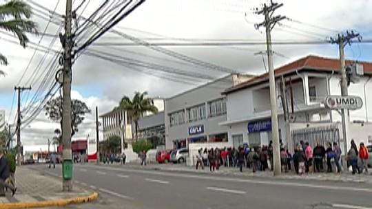 Movimento é grande nos bancos de Mogi após o fim da greve