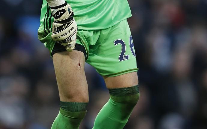 Victor Valdes Navas Middlesbrough x Manchester City (Foto: Reuters)