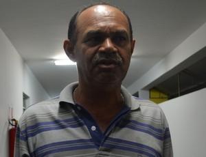 José Araújo, assessor técnico da Federação Paraibana de Futebol, FPF (Foto: Hévilla Wanderley / GloboEsporte.com/pb)