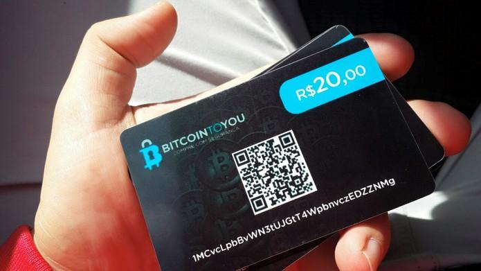 O principal diferencial da loja é a venda de cartões pré-pagos para que usuários abram novas carteiras de bitcoins no Brasil (Foto: Divulgação/André Horta)