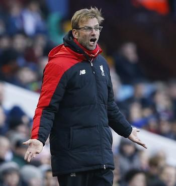 Klopp Liverpool x Aston Villa (Foto: Reuters)