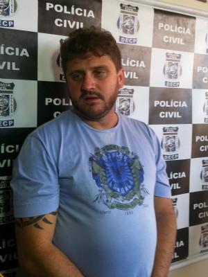 Leandro foi preso em um hotel na Avenida Getúlio Vargas, Centro (Foto: Tiago Melo / G1 AM)
