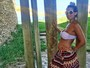 Ex-BBB Aline Gotschalg revela que está grávida de um menino