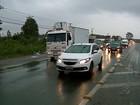 Cai concentração de caminhoneiros às margens de rodovias do RS