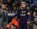 Messi discute com Fernandinho no vestiário após derrota do Barcelona
