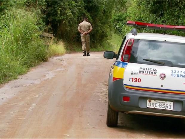 Corpo de jovem foi encontrado no Rio Barra Grande, em Cristina (Foto: Reprodução EPTV)