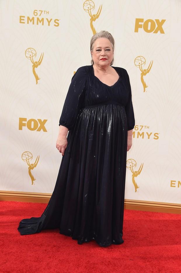 Kathy Bates no Emmy Awards (Foto: Getty Images)