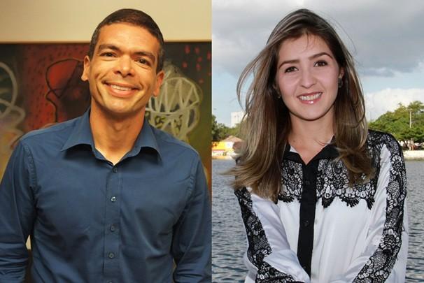 Hildebrando Neto e Larissa Fernandes (Foto: Juliana Miranda/Junot Lacet Filho)