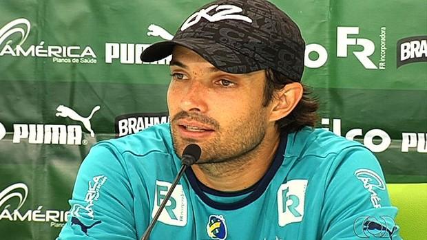 David - meia Goiás (Foto: Reprodução / TV Anhanguera)