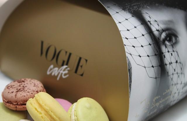 Os deliciosos macarons do Vogue Café (Foto: Divulgação)