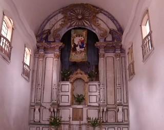 Convento São Bernardino de Sena fica em Angra dos Reis (Foto: Reprodução/ RJTV 1ª Edição)
