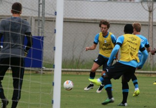 grêmio treino ct arena (Foto: Eduardo Moura/GloboEsporte.com)