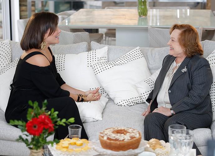 Entrevista foi marcada pela emoção  (Foto: Fábio Rocha / Gshow)