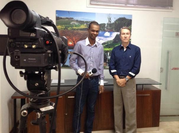 Maurício Oliveira, repórter da Inter TV dos Vales (Foto: Arquivo Pessoal)