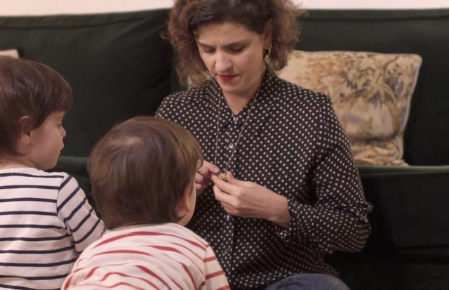 Ana Strumpf e seus filhos (Foto: Divulgação)