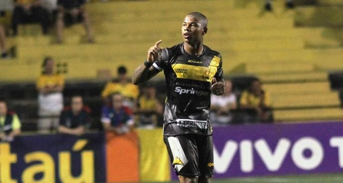 Luis Felipe Criciúma x Goiás (Foto: Fernando Ribeiro/Criciúma EC)