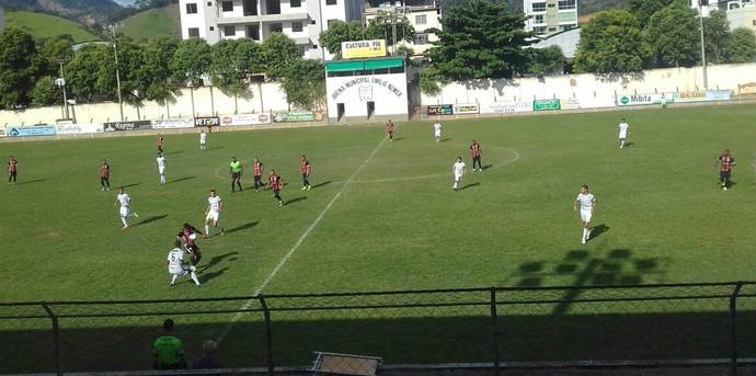 Serra vence a quarta seguida na Série B do Capixabão (Foto: Rafaela Gueller/Castelo FC)