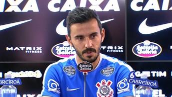 Veja a entrevista coletiva de Uendel, do Corinthians, concedida nesta terça