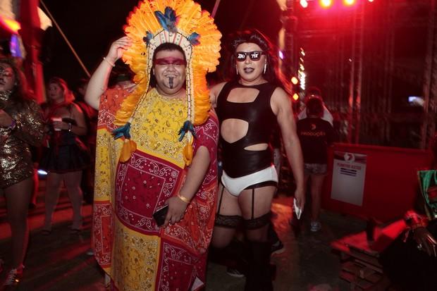 Gominho e David Brazil (Foto: Anderson Barros/EGO)