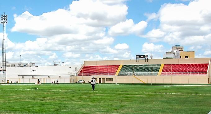 estádio adauto moraes; adauto moraes; juazeirense (Foto: Tadeu Paz/Ascom SETRE)