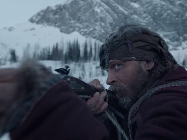 Tom Hardy em 'O regresso' (Foto: Divulgação)