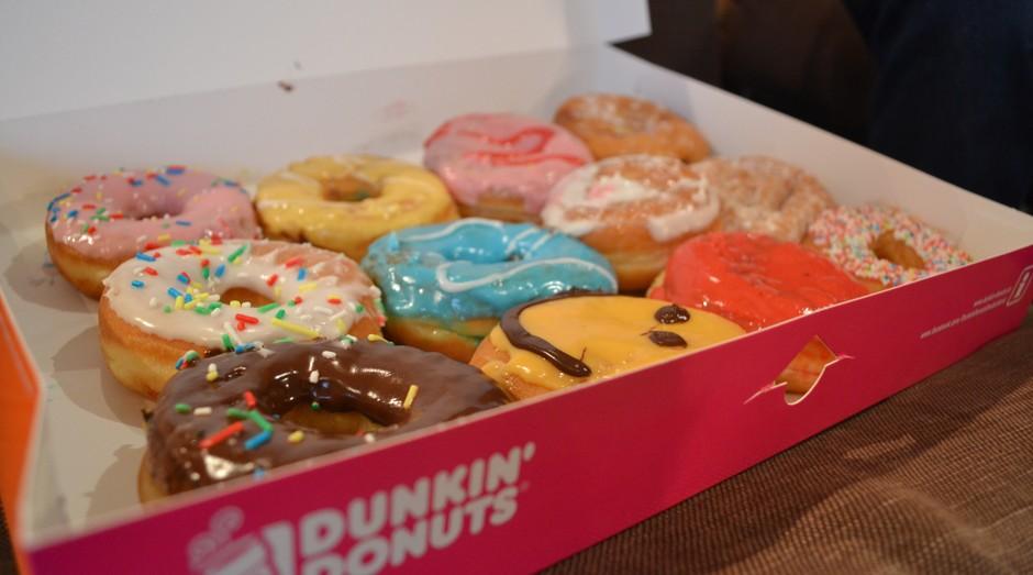 Rosquinhas da Dunkin' Donuts: lucro de grupo disparou (Foto: Divulgação)
