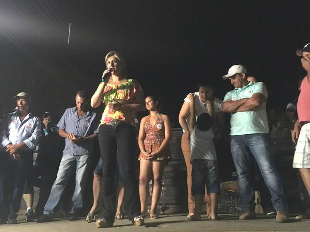 Elza (PSB) foi reeleita prefeita de Altamira do Paraná, no centro-oeste do estado (Foto: Elza Aparecida da Silva Aguiar/Arquivo Pessoal)