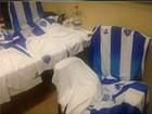 Loja  vendia camisas falsas do Paysandu (Reprodução/Tv Liberal)