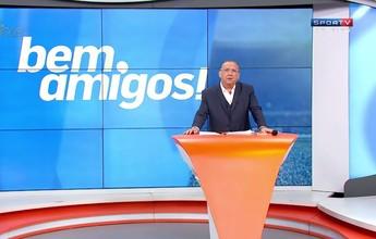 """Galvão Bueno fala de emoção em jogo da Chape: """"Foi um rito de passagem"""""""