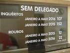 Sem delegados, roubo sobe e cidades de SP fazem revezamento de policiais