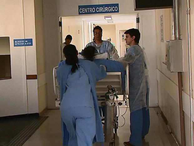 Santa Casa de São Carlos realiza a 2ª retirada de órgãos em uma semana (Foto: Reprodução EPTV)