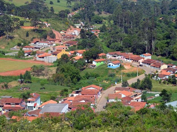 Alagoa, com cerca de 2,7 mil habitantes, localiza-se no alto da Serra da Mantiqueira (Foto: Samantha Silva / G1)