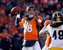 Broncos viram sobre Steelers no fim, e Manning vai reencontrar Tom Brady