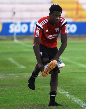Francis, atacante do Botafogo-SP (Foto: Luis Augusto/Ag. Botafogo)