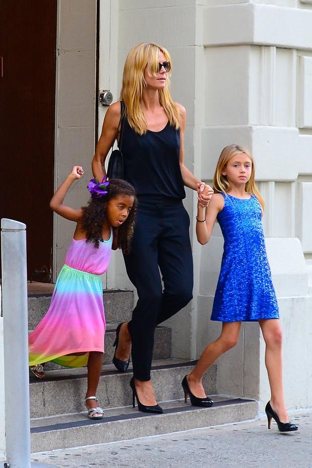 c0ee8d8458 Heidi Klum e as filhas (Foto  Splash News AKM-GSI   AKM