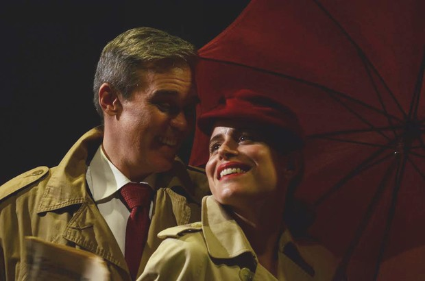 Camila Czerkes e Dalton Vigh (Foto: Alan Foster / Divulgação)