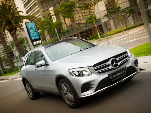Mercedes-Benz GLC (Foto: Divulgação)