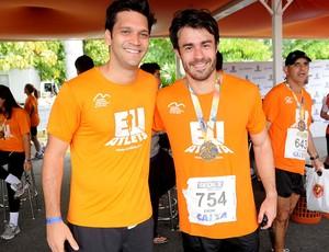 Corrida 5Km eu atleta meia do rio de janeiro Smigol Armando Babaioff eron (Foto: Alexandre Durão / Globoesporte.com)
