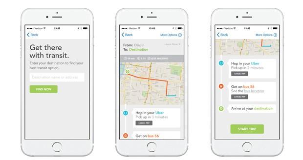 Aplicativo TransLoc vai integrar Uber a rotas de ônibus para melhorar a mobilidade urbana nos EUA (Foto: Divulgação)