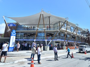 Novo Mercado Municipal de Itapuã foi reinaugurado na manhã deste sábado (Foto: Max Haack/Agecom)