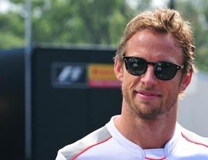 Jenson Button circuito Monza vistoria Fórmual 1 (Foto: AFP)