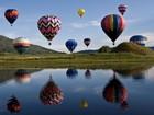 Festival de balonismo é realizado em Barra Bonita no final de semana