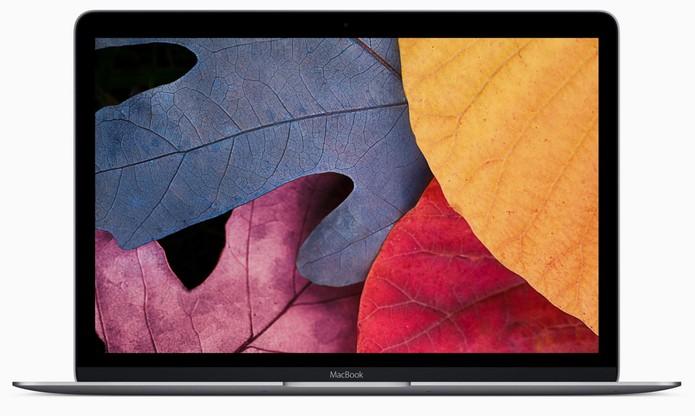 MacBook traz uma câmera com resolução SD, inferior às do iPhone e outros notebook (Foto: Divulgação/Apple)