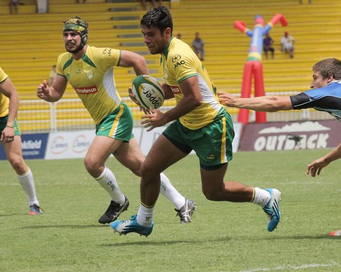 Seleção brasileira de rúgbi 15 disputará três partidas no Pacaembu (Foto: João Neto / Divulgação)
